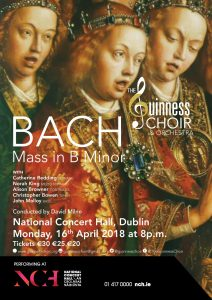 Bach's Mass in B minor with The Guinness Choir @ The National Concert Hall @ National Concert Hall   Dublin   County Dublin   Ireland